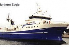 "MV ""Northern Eagle"" Canadian Shrimp Trawler"