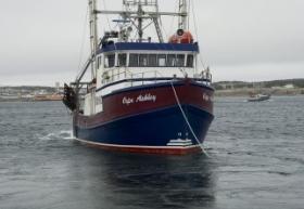 « Cap Ashley » le capitaine Dwight Spence, Port Aux Choix, Terre-Neuve